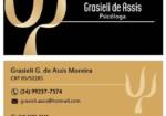 Grasieli de Assis Psicóloga Psicanalista.